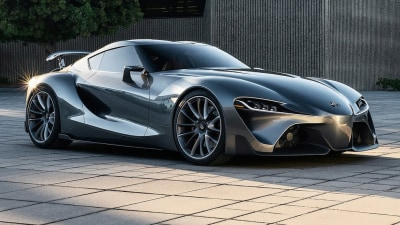 Toyota Reveals New Racing Spin On FT-1 Coupe Concept: Video