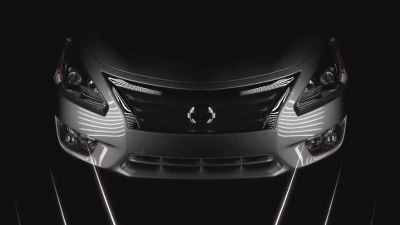2013 Nissan Altima Gets One Last Teaser Ahead Of New York Debut