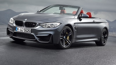 BMW M4 Convertible Revealed Ahead Of Australian Launch