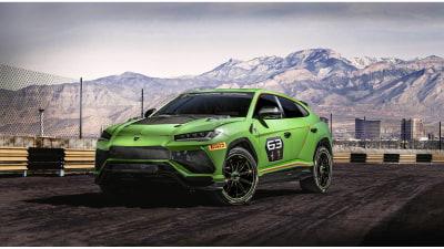 Lamborghini reveals Urus race series