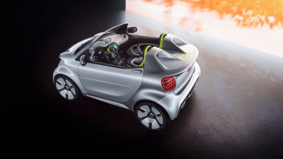 Smart electric roadster concept unveiled