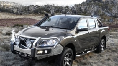 2015 Mazda BT-50 XTR Dual Cab first drive review