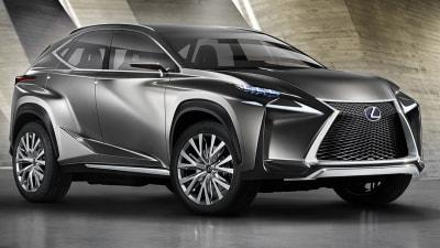 Lexus LF-NX SUV Concept Revealed