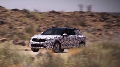2018 Volkswagen T-Roc Debuts In First Teaser Video