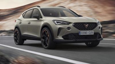 2021 Cupra Formentor VZ5: 287kW five-cylinder sports SUV revealed