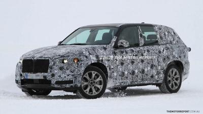 2014 BMW X5 Interior Spied During Winter Tests