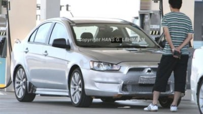 Lancer Ralliart spotted in California