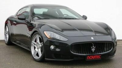Novitec Tridente Maserati GranTurismo S Packing Supercharged 447kW