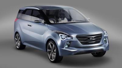 Hyundai Hexa Space Concept Revealed At New Delhi Auto Expo