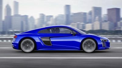 Audi Reveals Autonomous R8 E-Tron Piloted Driving Concept At CES Asia