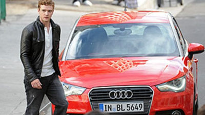 2010 Audi A1 Spied In Commercial Shoot