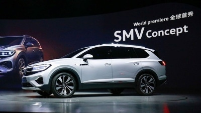 Volkswagen Unveils China-Only (and Huge) SUV Concept