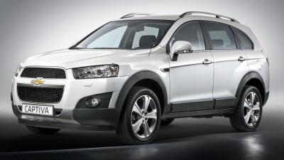 2011 Holden Captiva Previewed In Chevrolet Captiva Update