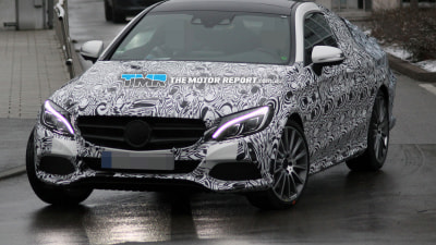 2016 Mercedes-Benz C-Class Coupe Spied Testing