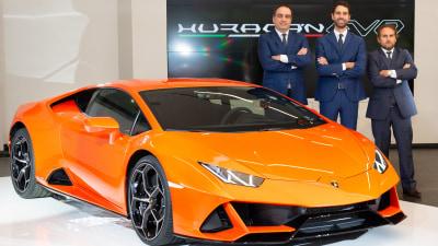 Lamborghini Huracan Evo lands in Australia