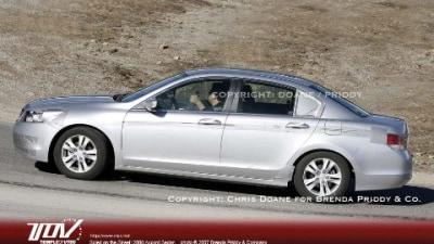 2008 Honda Accord spy photos