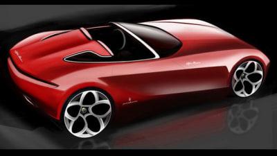 Pininfarina Alfa Romeo Spider Concept To Debut At Geneva