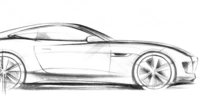 Jaguar C-X16 Concept Teased Ahead Of Frankfurt Debut