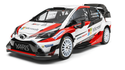 Toyota Unveils Awesome Yaris World Rally Championship Beast