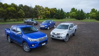 Ute comparison review: Toyota Hilux v Ford Ranger v Mazda BT-50 v Mitsubishi Triton