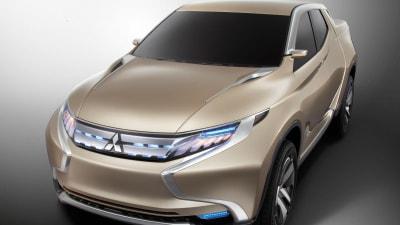 Mitsubishi GR-HEV Diesel-electric Hybrid Previews 2015 Triton Pickup