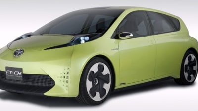 Toyota FT-CH Dedicated Hybrid Concept Revealed
