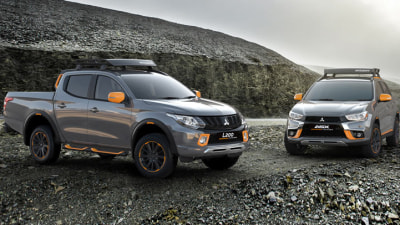 Mitsubishi Brightens Up ASX and Triton With Geoseek Concepts
