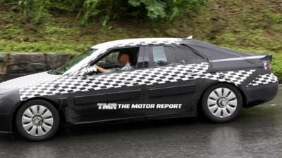2010 Saab 9-5 Spied Testing Ahead Of Debut Frankfurt Motor Show In September