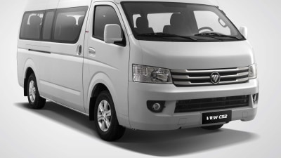 Foton Van And People Mover On Sale In Australia From 2015