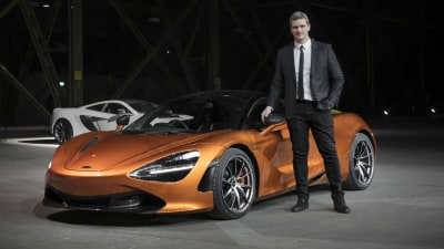 McLaren Appoints Rob Melville As Design Director
