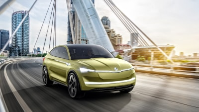 Skoda Vision E Charges Up For Electric Future In Shanghai