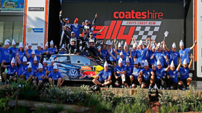 Volkswagen, Ogier Make It Three Championships In A Row At Rally Australia