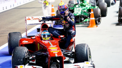 F1: Webber Penalised For Catching A Ride, Raikkonen May Skip Korean GP