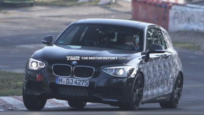 2013 BMW 135i Three-door Spied At The 'Ring