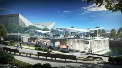 BMW's Olympics Pavilion: Artistry Meets Sustainability