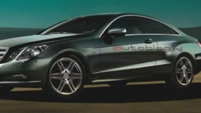 Mercedes Benz E-Class Coupe Images Leaked