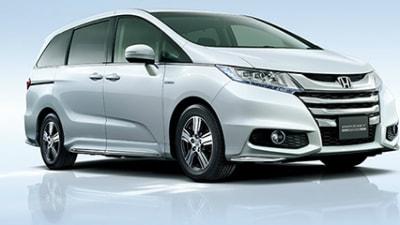 Honda Odyssey Hybrid Set For February Launch - Japan-Only For Now