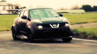 Video: Nissan's Juke-R Hits The Track