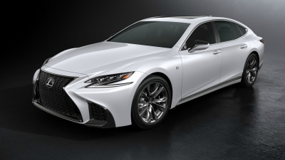 2018 Lexus LS 500 F-Sport Unveiled At New York Auto Show