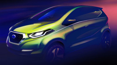 Datsun Teases New Compact Concept For Delhi Auto Expo