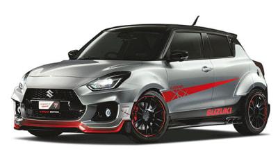 Suzuki reveals Tokyo Auto Salon custom cars
