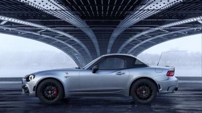 Hard-top Abarth 124 Spider revealed