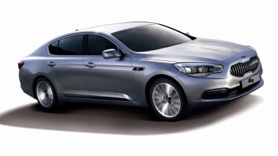 Kia K9 Luxury Sedan Hits Korea, Australia Off The Table