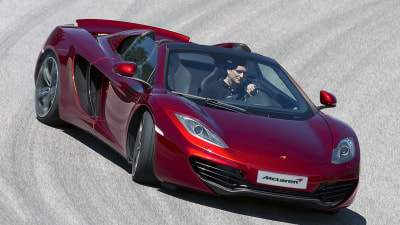 McLaren MP4-12C Spider Revealed Ahead Of Australian Debut