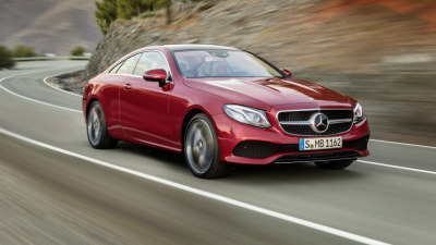 Mercedes-Benz E-Class Coupe Unveiled For 2017