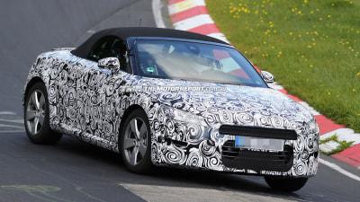 2016 Audi TT Roadster Spied Testing