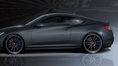 Hyundai Genesis Coupe Supercharged For SEMA Show