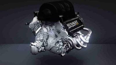 F1: 2014 Renault Formula One Turbo V6 Engine Unveiled