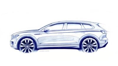 New Volkswagen Touareg teased