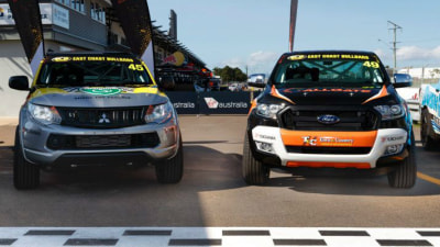 SuperUtes Unveiled - Ford Ranger And Mitsubishi Triton First On Show